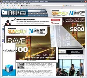 Banner ads bilde